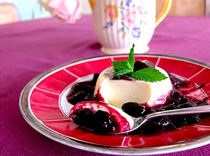 Панна-котта с ягодами