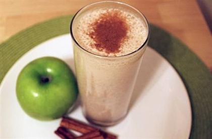 Яблочно-ванильный смузи