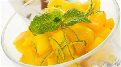 Творог с абрикосами