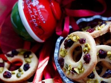 Печенье Рождественские веночки