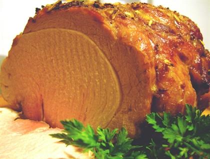 Запеченный свиной окорок «Мечта охотника»