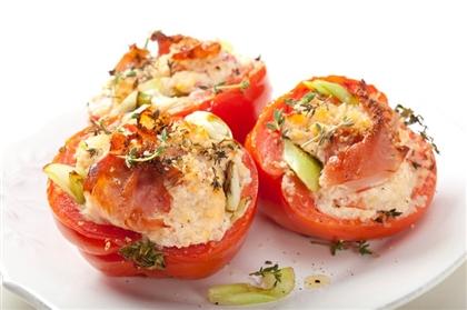 Фаршированные помидоры рикоттой