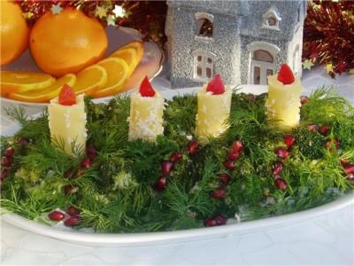 «Свечи новогодние»