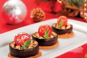 Новогодняя закуска из баклажанов