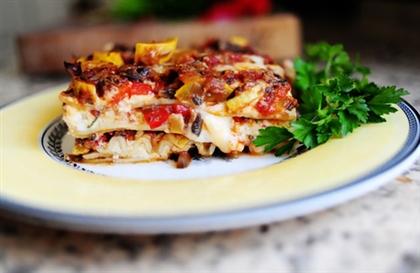Лазанья «Вегетарианская»