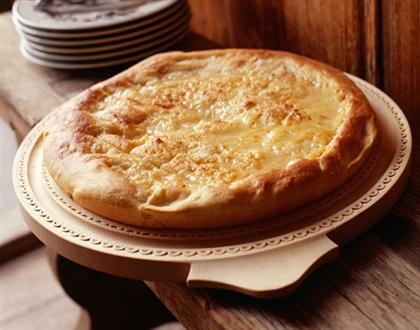 Сырный пирог с куриным филе