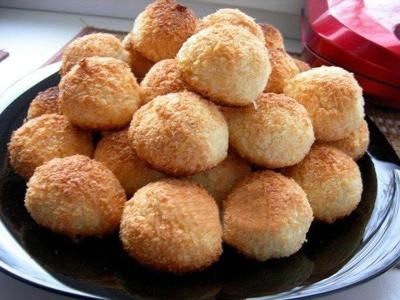 Нежное творожно-кокосовое печенье