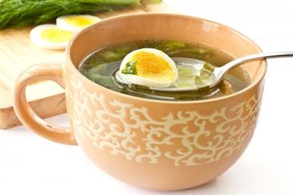 Летний суп из щавеля