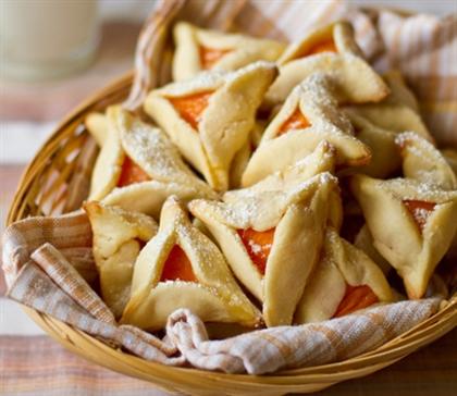 Песочное абрикосовое печенье