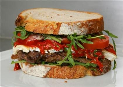 Бутерброд Овощной микс