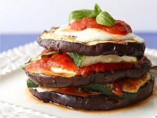 Вегетарианская лазанья из баклажана, цукини и сыра