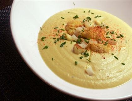 Суп из цветной капусты Кальдо Верде