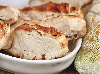 Курица в яблочно-грушевом соусе