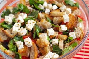 Итальянский (Тосканский) хлебный салат