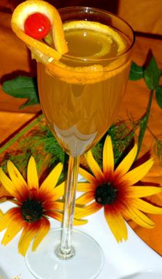 Напиток Шипучий апельсин
