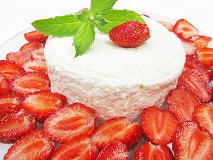 Простой йогуртовый торт