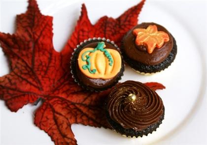 Рецепт на Хэллоуин: Шоколадные капкейки