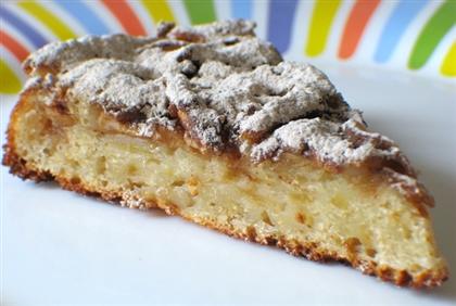 Бисквитный пирог с корицей