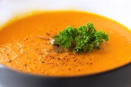 Морковный суп карри
