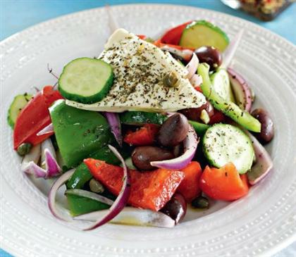 Критский греческий салат