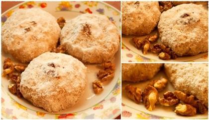 Мексиканское свадебное песочное печенье