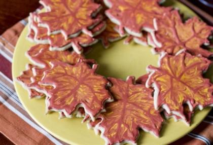 Печенье с кленовым сиропом