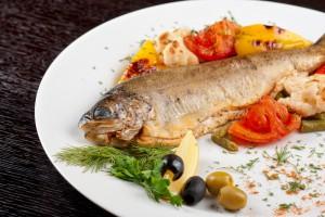 Рыба с овощами по-сицилийски