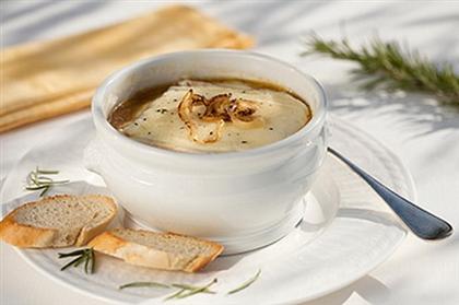 «Сырный суп с грибами»
