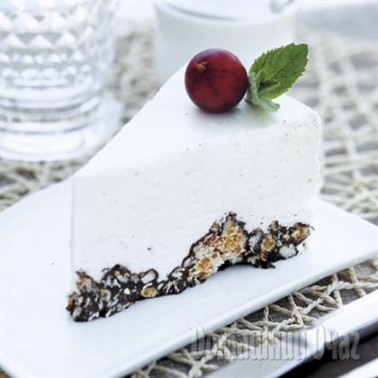 Воздушный торт из мюсли