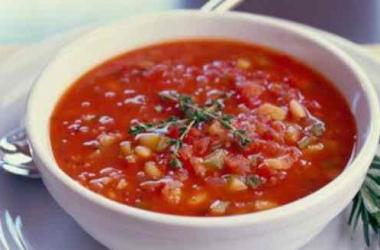 Овощной суп со сливками