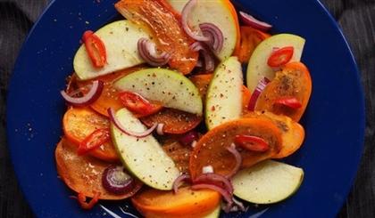 Острый салат из фруктов