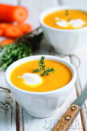 Mорковный суп