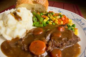 Мясо в сметанном соусе