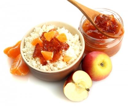 Варенье из яблок и мандаринов