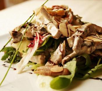 Осенний салат из телятины и овощей