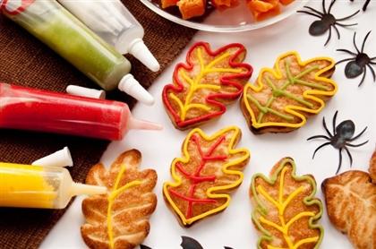 Рецепт на Хэллоуин: Печенье Осенние листики